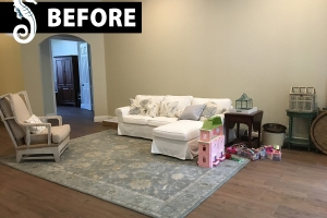 Occupied home staging South Florida